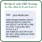 Merlin 8x With Texting Image