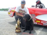 NHRA Super Gas Winner Tom Goldman
