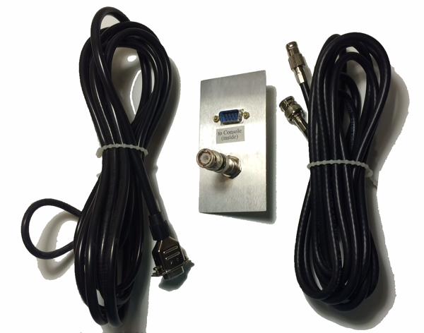 J20 Connector Panel with 10 ft. Cables