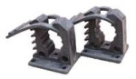 Set of 2 Pole Mounting Clamps