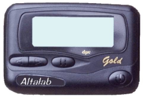 pager for drag racing
